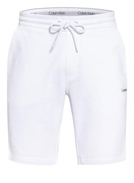 Calvin Klein Sweatshorts, Farbe: WEISS (Bild 1)