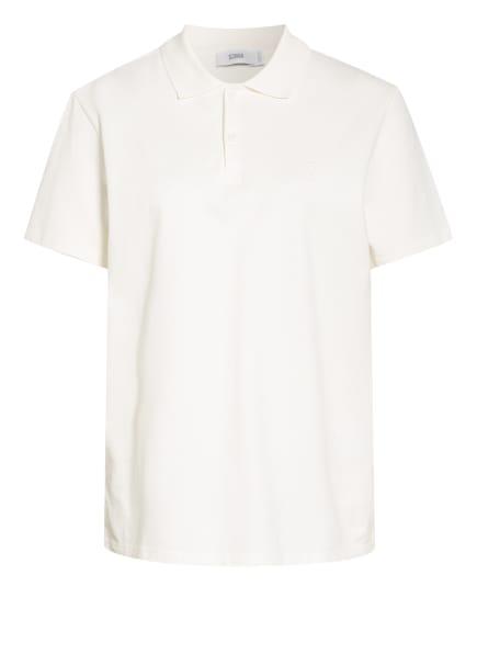 CLOSED Piquè-Poloshirt, Farbe: ECRU (Bild 1)