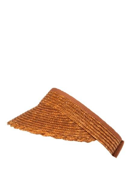 SEEBERGER Visor-Cap, Farbe: BRAUN (Bild 1)