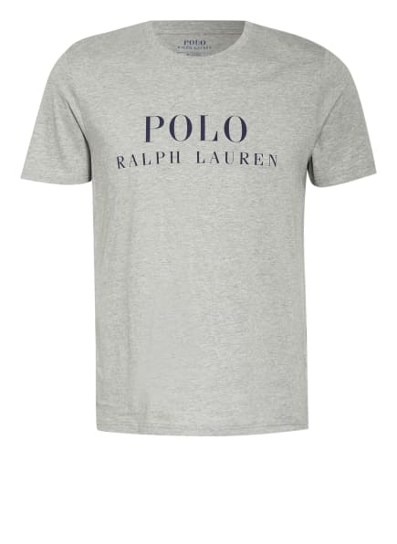 POLO RALPH LAUREN Lounge-Shirt, Farbe: HELLGRAU (Bild 1)