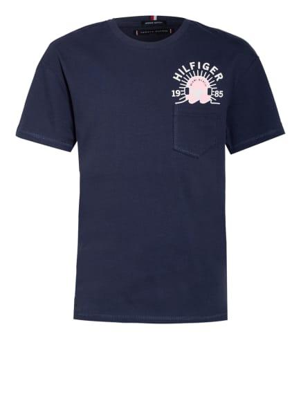 TOMMY HILFIGER T-Shirt, Farbe: BLAU (Bild 1)