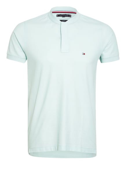 TOMMY HILFIGER Piqué-Poloshirt Slim Fit, Farbe: MINT (Bild 1)