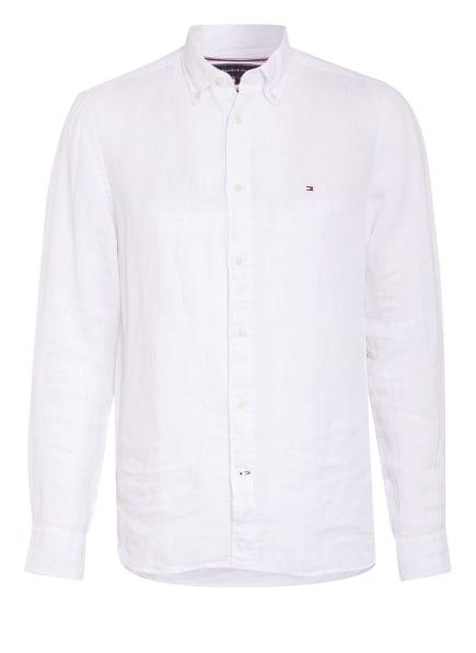 TOMMY HILFIGER Leinenhemd Regular Fit, Farbe: WEISS (Bild 1)