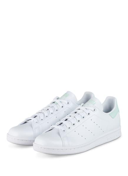 adidas Originals Sneaker STAN SMITH, Farbe: WEISS/ MINT (Bild 1)