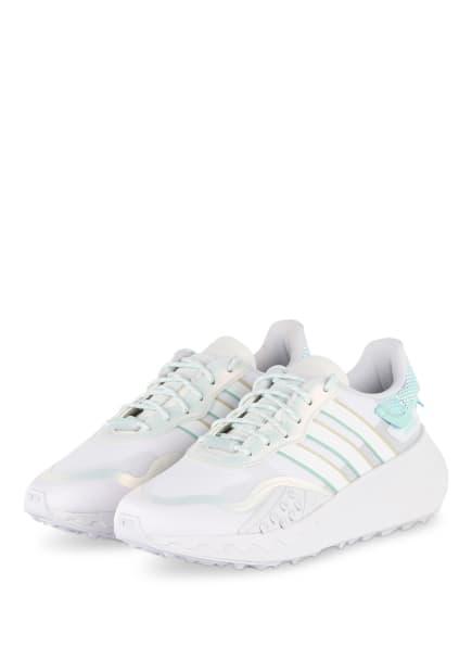 adidas Originals Plateau-Sneaker CHOIGO, Farbe: WEISS/ MINT (Bild 1)