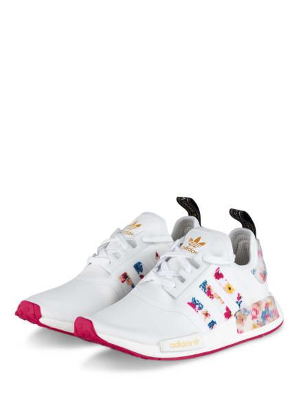 adidas Originals Plateau-Sneaker NMD_R1, Farbe: WEISS (Bild 1)