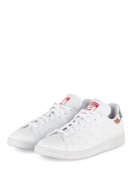 adidas Originals Sneaker STAN SMITH, Farbe: WEISS/ ROT/ BLAU (Bild 1)