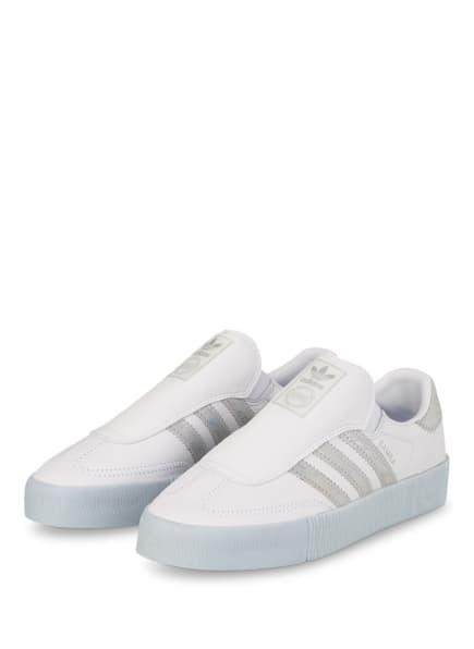 adidas Originals Sneaker SAMBAROSE, Farbe: WEISS/ SILBER/ HELLBLAU (Bild 1)