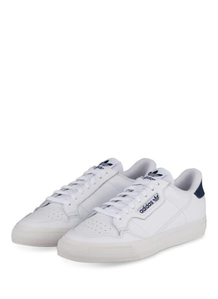 adidas Originals Sneaker CONTINENTAL VULC, Farbe: WEISS/ BLAU (Bild 1)