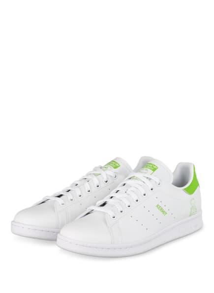 adidas Originals Sneaker STAN SMITH, Farbe: WEISS/ HELLGRÜN (Bild 1)