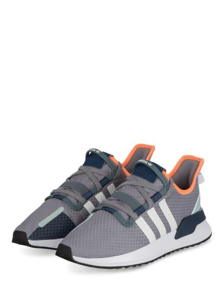 adidas Originals Sneaker U_PATH RUN, Farbe: GRAU/ WEISS/ NEONORANGE (Bild 1)