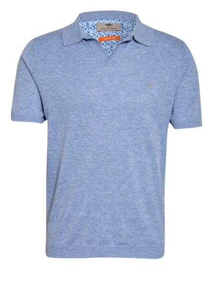FYNCH-HATTON Poloshirt Modern Fit, Farbe: HELLBLAU/ WEISS (Bild 1)