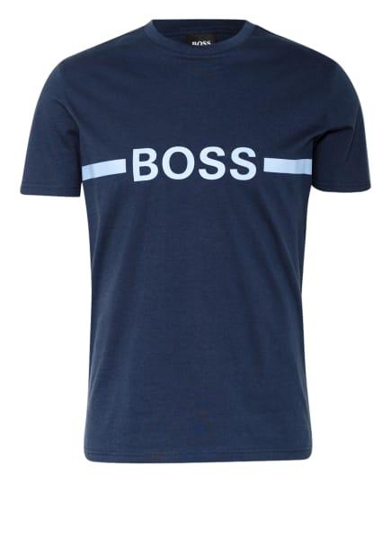 BOSS T-Shirt , Farbe: DUNKELBLAU/ BLAUGRAU (Bild 1)