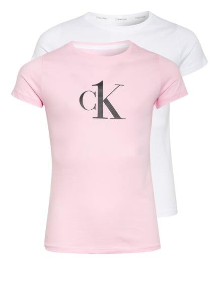 Calvin Klein 2er-Pack CK ONE, Farbe: ROSA/ WEISS (Bild 1)
