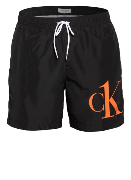 Calvin Klein Badeshorts CK ONE, Farbe: SCHWARZ (Bild 1)