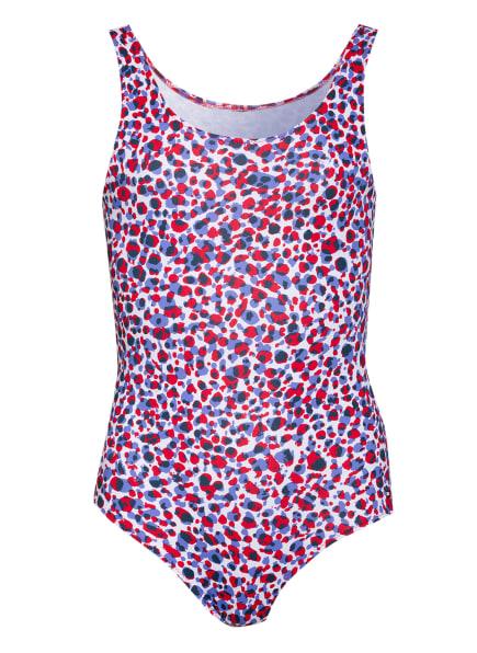 TOMMY HILFIGER Badeanzug, Farbe: WEISS/ BLAU/ ROT (Bild 1)