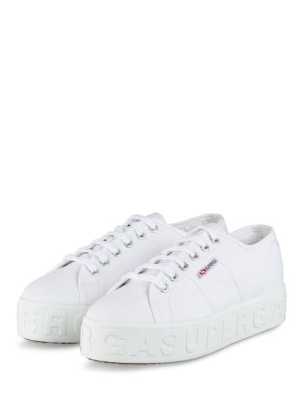 SUPERGA Plateau-Sneaker 2790, Farbe: WEISS (Bild 1)