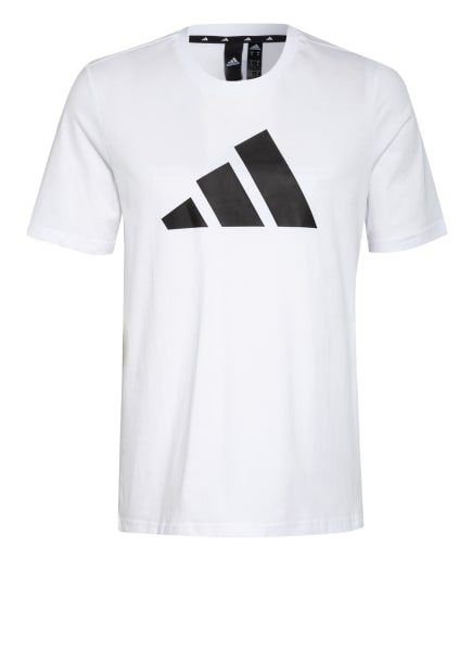 adidas T-Shirt BADGE OF SPORT, Farbe: WEISS/ SCHWARZ (Bild 1)