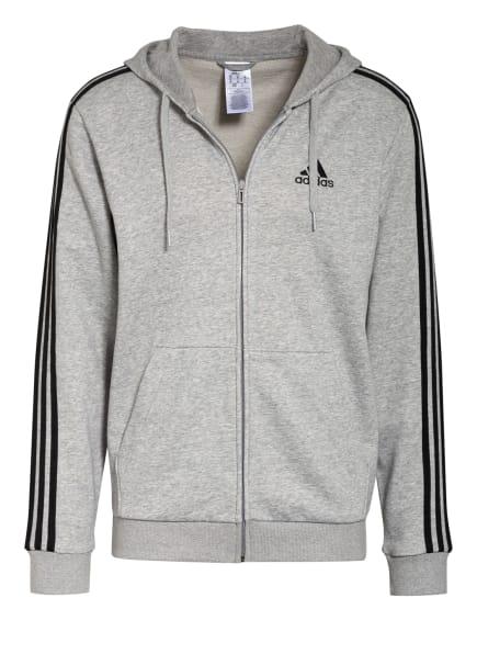 adidas Sweatjacke ESSENTIALS, Farbe: HELLGRAU (Bild 1)