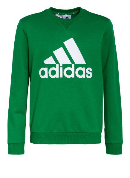 adidas Sweatshirt, Farbe: GRÜN/ WEISS (Bild 1)