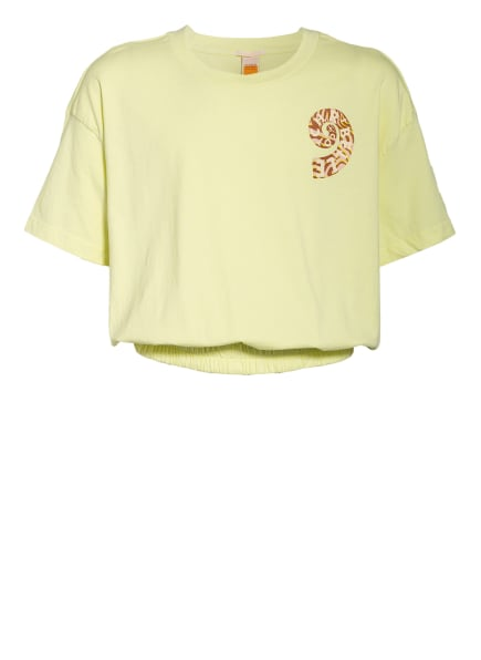 SCOTCH R'BELLE Cropped-Shirt, Farbe: HELLGRÜN (Bild 1)