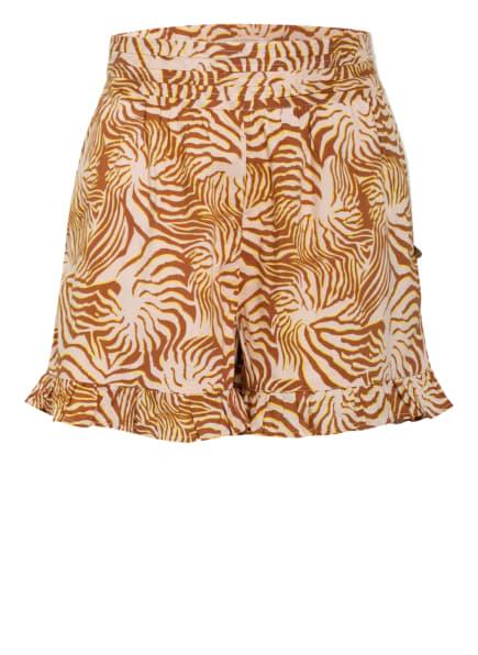 SCOTCH R'BELLE Shorts, Farbe: BRAUN/ NUDE/ GELB (Bild 1)
