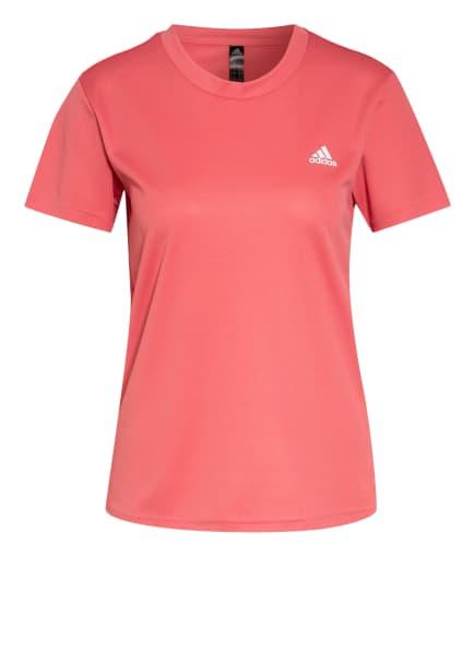 adidas T-Shirt, Farbe: HELLROT (Bild 1)