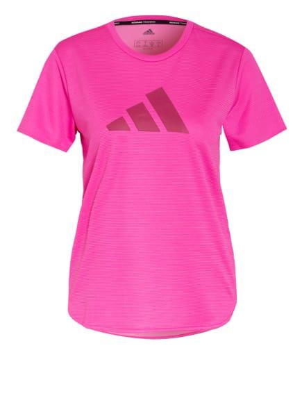 adidas T-Shirt BADGE OF SPORT, Farbe: PINK (Bild 1)