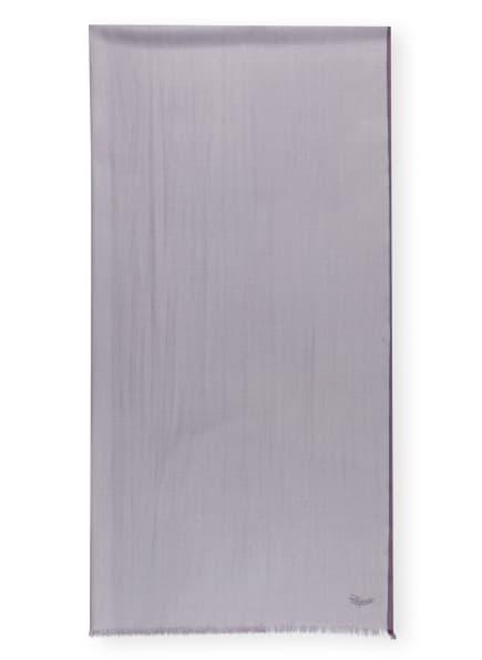 Ermenegildo Zegna Schal mit Seide, Farbe: GRAU (Bild 1)