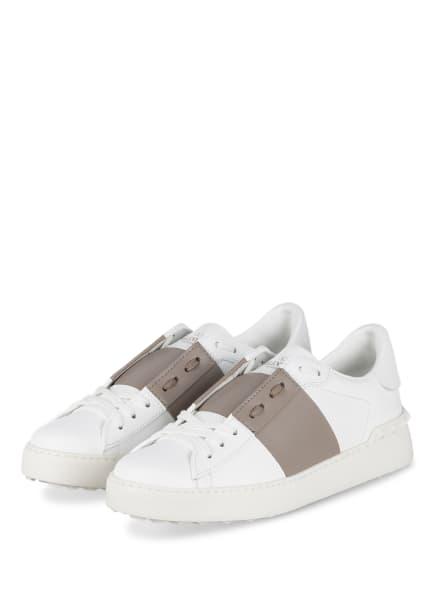 VALENTINO GARAVANI Sneaker ROCKSTUD, Farbe: WEISS/ TAUPE (Bild 1)