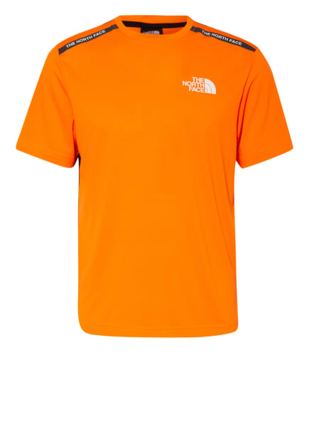 THE NORTH FACE T-Shirt MOUNTAIN ATHLETICS , Farbe: ORANGE (Bild 1)