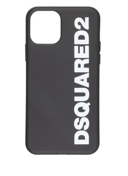 DSQUARED2 Smartphone-Hülle, Farbe: SCHWARZ/ WEISS (Bild 1)