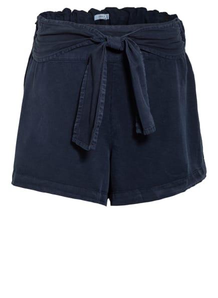 name it Paperbag-Shorts, Farbe: DUNKELBLAU (Bild 1)