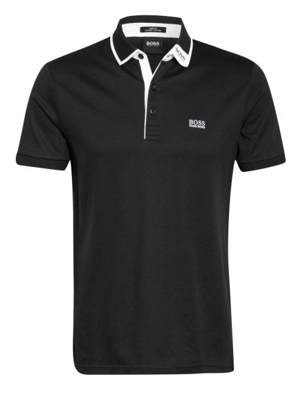 BOSS Jersey-Poloshirt PAULE Slim Fit, Farbe: SCHWARZ (Bild 1)