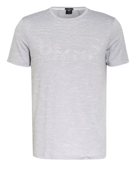 BOSS T-Shirt TEETECH, Farbe: WEISS/ GRAU (Bild 1)