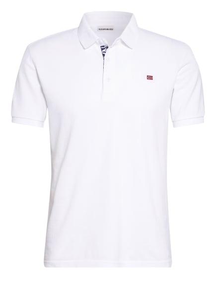 NAPAPIJRI Piqué-Poloshirt EOLANOS, Farbe: WEISS (Bild 1)