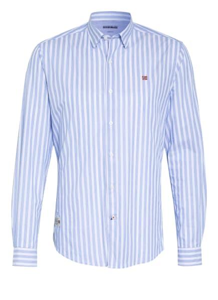 NAPAPIJRI Hemd GING Regular Fit, Farbe: HELLBLAU/ WEISS (Bild 1)