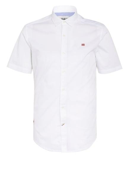 NAPAPIJRI Kurzarm-Hemd GING Slim Fit, Farbe: WEISS (Bild 1)