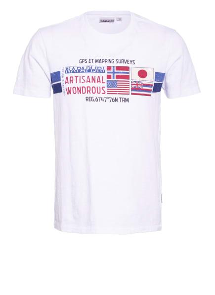 NAPAPIJRI T-Shirt SILEA, Farbe: WEISS (Bild 1)