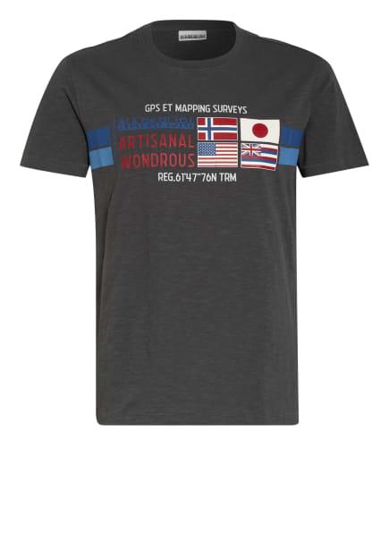 NAPAPIJRI T-Shirt SILEA, Farbe: DUNKELGRAU (Bild 1)