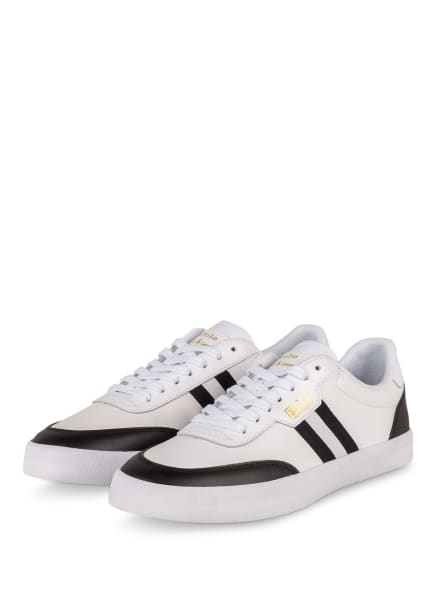 POLO RALPH LAUREN Sneaker, Farbe: WEISS/ SCHWARZ (Bild 1)