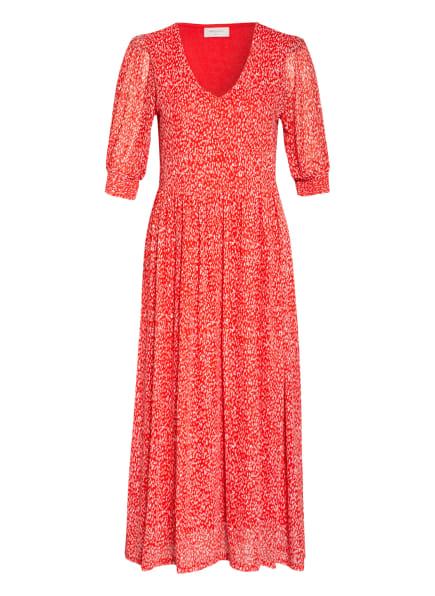 FREEQUENT Kleid FQKARMA, Farbe: ROT/ WEISS (Bild 1)
