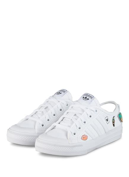 adidas Originals Sneaker NIZZA, Farbe: WEISS (Bild 1)