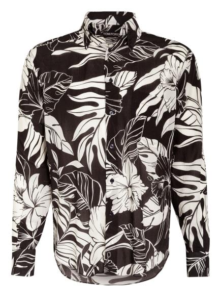 TOM FORD Hemd Regular Fit, Farbe: SCHWARZ/ CREME (Bild 1)