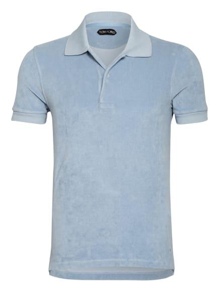 TOM FORD Frottee-Poloshirt, Farbe: HELLBLAU (Bild 1)