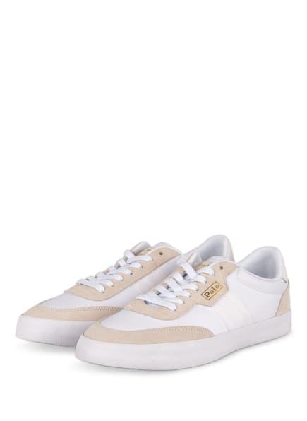POLO RALPH LAUREN Sneaker, Farbe: WEISS (Bild 1)