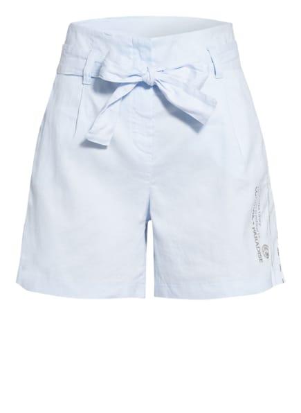 SPORTALM Shorts mit Leinen, Farbe: HELLBLAU (Bild 1)