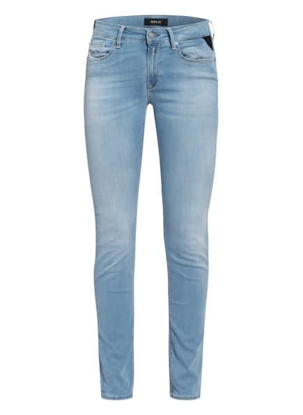 REPLAY Skinny Jeans NEW LUZ HYPERFLEX RE-USED X-L.I.T.E., Farbe: 010 LIGHT BLUE (Bild 1)