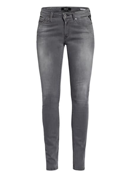 REPLAY Skinny Jeans NEW LUZ, Farbe: 096 DARK GREY (Bild 1)