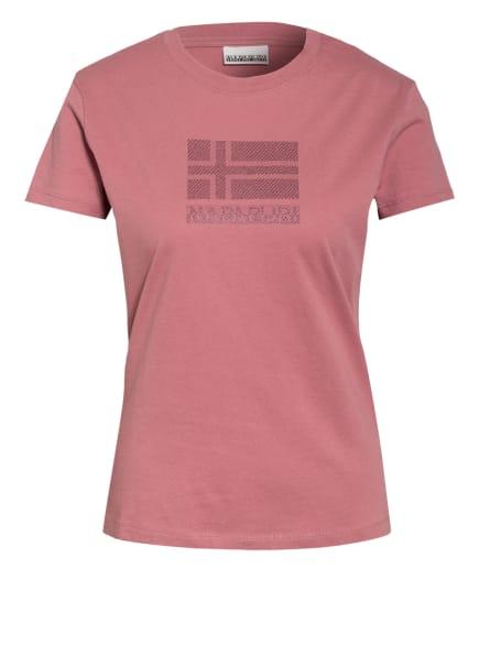 NAPAPIJRI T-Shirt SEOLL, Farbe: ROSÉ/ CAMEL (Bild 1)